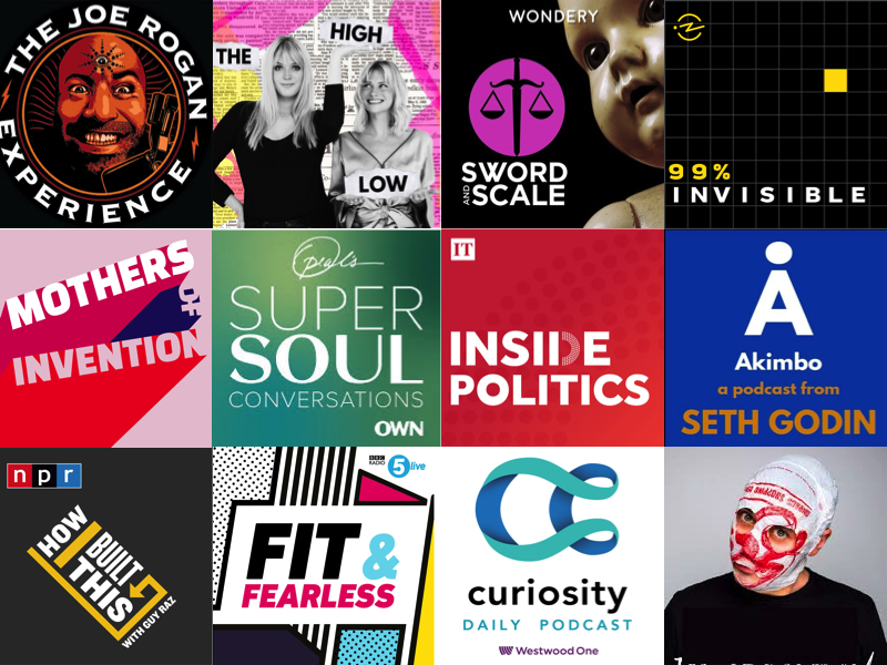 12 Podcasts You Definitely Should Be Subscribed To