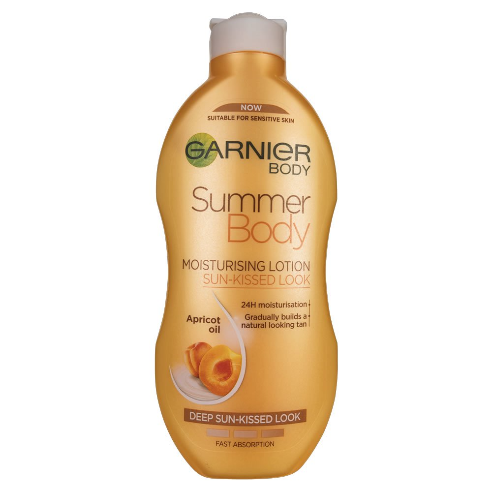 Garnier-Summer-Body-Dark-Gradual-Tan-Moisturiser - tanning products - ericabracken.com