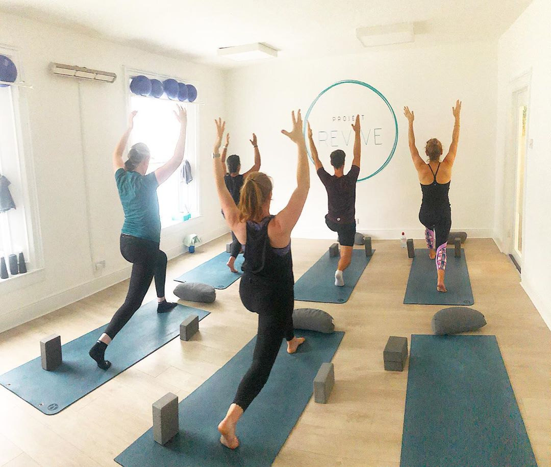 Project Revive - yoga studios Dublin - ericabracken